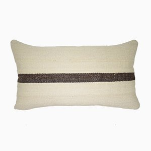 Striped Kilim Lumbar Pillow Cover from Vintage Pillow Store Contemporary