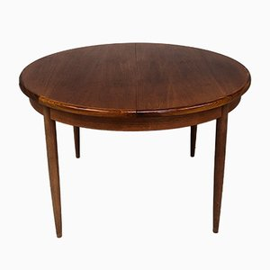 Mid-Century Teak Fresco Extendable Dining Table from G-Plan, 1960s