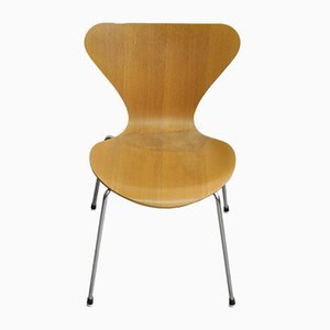 Mid-Century Model 3107 Chair by Arne Jacobsen for Fritz Hansen, 1980s