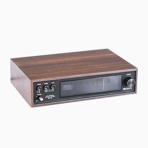 Sintonizador AM-FM japonés vintage de Sony, años 70