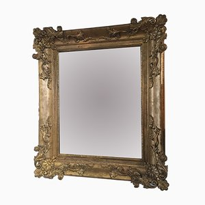 Antique Mirror with Golden Frame