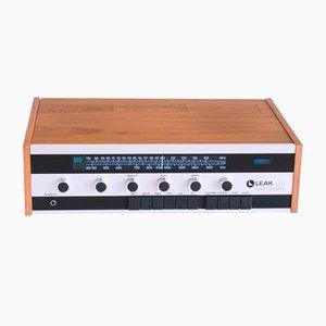 Amplificador receptor de alta fidelidad británico de Leak, años 70