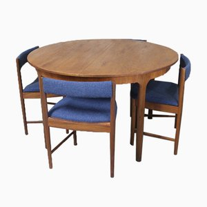 Teak Dining Room Set by Tom Robertson for McIntosh, 1960s