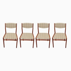 Vintage Dining Chairs by Knud Andersen, 1960s, Set of 4