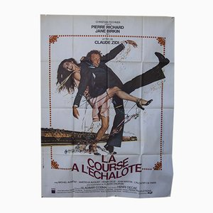 Vintage French Film Poster, 1970s