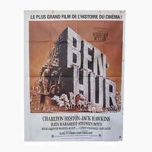 Poster del film Ben Hur vintage, anni '50