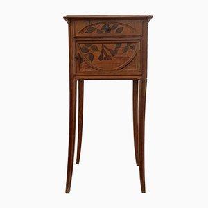 Comodino Art Nouveau antico di Auguste Metge