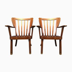 Vintage Chairs by Sören Hansen for Fritz Hansen, 1940s, Set of 2