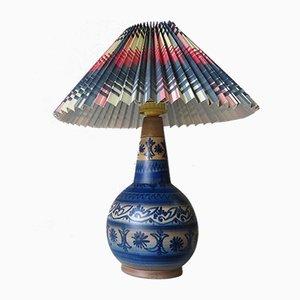 Lámpara danesa Mid-Century de cerámica de Winthers Keramik Laven
