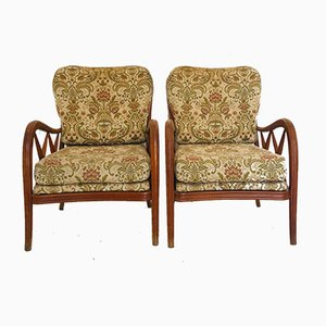 Mid-Century Armchairs by Paolo Buffa, 1960s, Set of 2