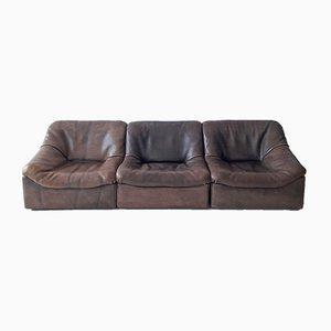 Modulares DS46 Sofa aus Büffelleder von de Sede, 1970er