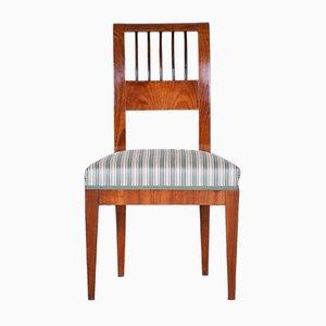 Antiker tschechischer Biedermeier Stuhl aus Kirschholz