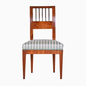 Antique Czech Cherry Wood Biedermeier Chair