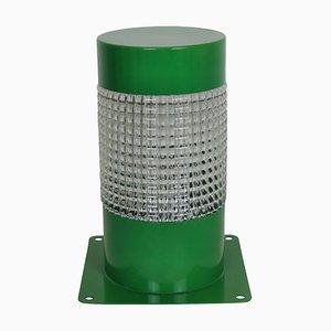 Französische Vintage Tischlampen aus grünem Metall von Lita für Lita, 1960er, 2er Set