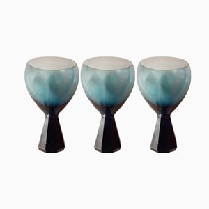 Diabolo Wine Glasses from Friedrich Glas, 1960s, Set of 3