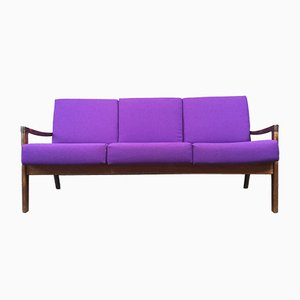 Rosewood Sofa by Ole Wanscher for France & Søn, 1960s