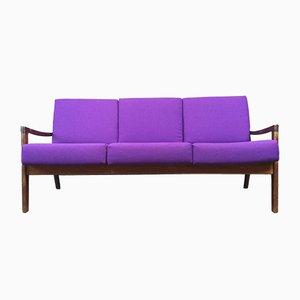 Sofa mit Gestell aus Palisander von Ole Wanscher für France & Søn, 1960er