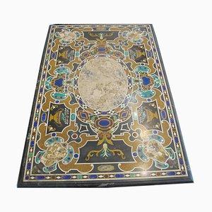 Antike italienische Tischplatte aus Marmor
