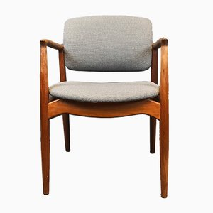 Model 67 Captain's Chair by Erik Buch for Ørum Møbler, 1960s