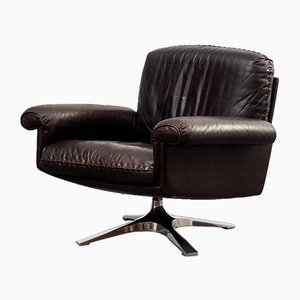 Model DS31 Leather Lounge Chair from de Sede, 1970s