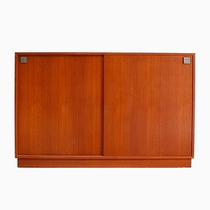 Mid-Century Model N5 Teak Highboard by Alfred Hendrickx for Belform, 1960s