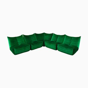 Italian Model ZoZo Sectional Sofa by Gianfranco Grignani for Seven Salotti, 1970s
