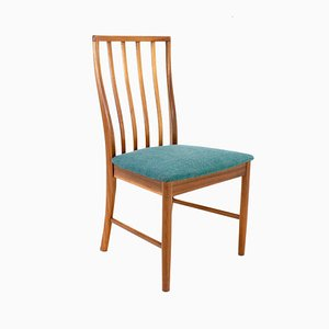 Vintage Teak Dining Chairs, Set of 4