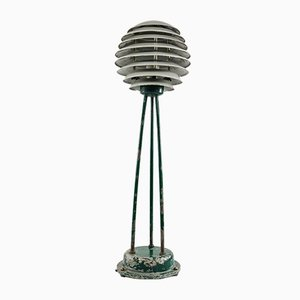 Lámpara de pie vintage, años 50