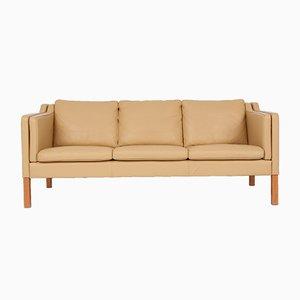 Vintage Consul Leather 3-Seater Sofa by Svend Skipper for Skipper Møbler, 1980s