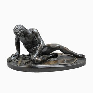 19th Century Bronze Figure of The Dying Gaul