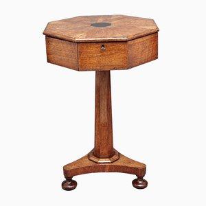 Table d'Appoint en Chêne, 19ème Siècle