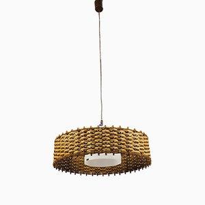 Lámpara de techo vintage de Doria Leuchten, años 70