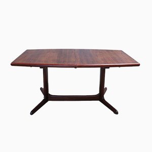 Mid-Century Rosewood Oval Table from Skovby, 1960s