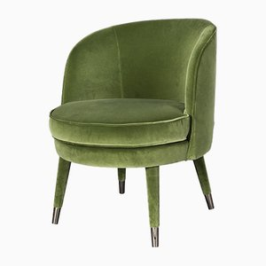 Nobili Green Velvet Vivien Armchair from Vgnewtrend