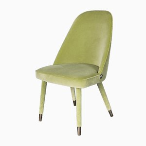 Light Green Nobili Velvet Paulette Side Chair from Vgnewtrend