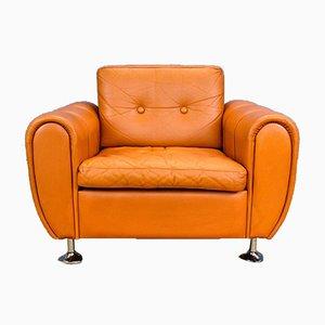 Vintage Danish Lounge Chair by Svend Skipper for Skipper, 1970s