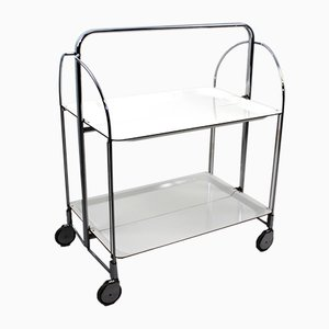 Mid-Century Collapsible Serving Trolley from Bremshey Solingen, 1960s