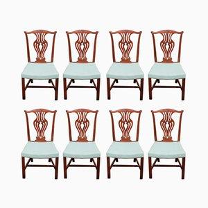 Vintage Esszimmerstühle, 1980er, 8er Set