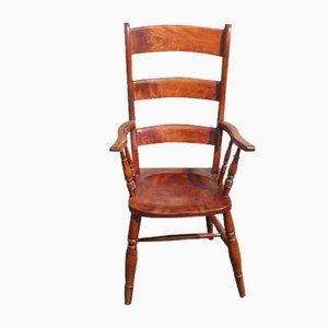 Beech Slatback Carver Chair, 1920s