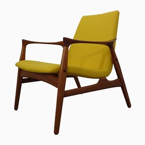 Danish Teak Armchair by Arne Hovmand-Olsen for Mogens Kold, 1950s