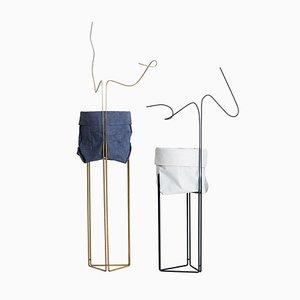 Macetas Line Pedestal de Filipe Ramos para Filipe Ramos Design