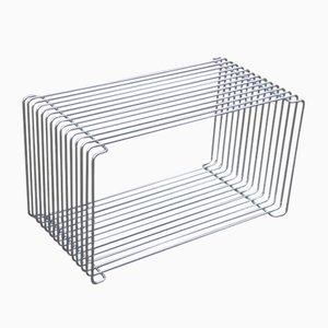 Vintage Wire Unit Shelf by Verner Panton for J. Lüber AG, 1970s