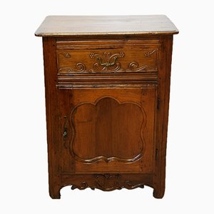 Antique French Bedside Cabinet, 1700s