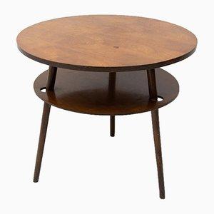 Table Basse Tchécoslovaque Mid-Century en Noyer, 1960s