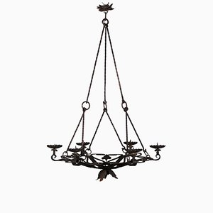 Antique Candleholder Chandelier