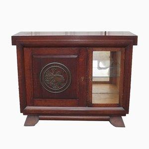 Mueble bar o vitrina Art Déco, años 40