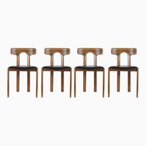 Moderne italienische Stühle, 1960er, 4er Set