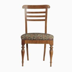 Italienischer Mid-Century Stuhl aus Kirschholz, 1950er