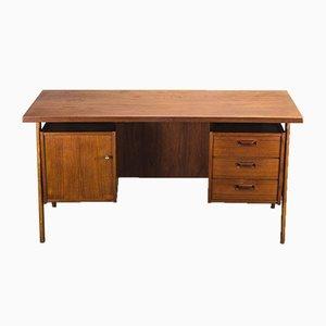 Vintage Schreibtisch aus Teak, 1960er