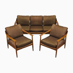 Danish Teak Living Room Set by Walter Knoll, 1960s